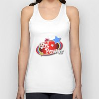 girl power Tank Tops featuring Girl Power by Vannina