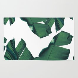 Banana Leaves Tropical Vibes #5 #foliage #decor #art #society6 Rug