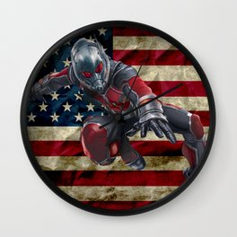 Ant Man - © Doc Braham; All Rights Reserved Wall Clock