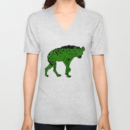 The aberrant hyena Unisex V-Neck