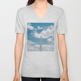 Washington Monument Unisex V-Neck
