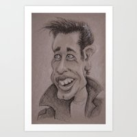 danny haas Art Prints featuring Danny by chadizms