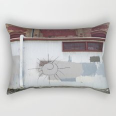 Other Side of the Tracks Rectangular Pillow