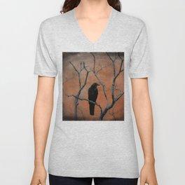 Nature Blackbird Unisex V-Neck
