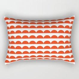BREE ((cherry red)) Rectangular Pillow