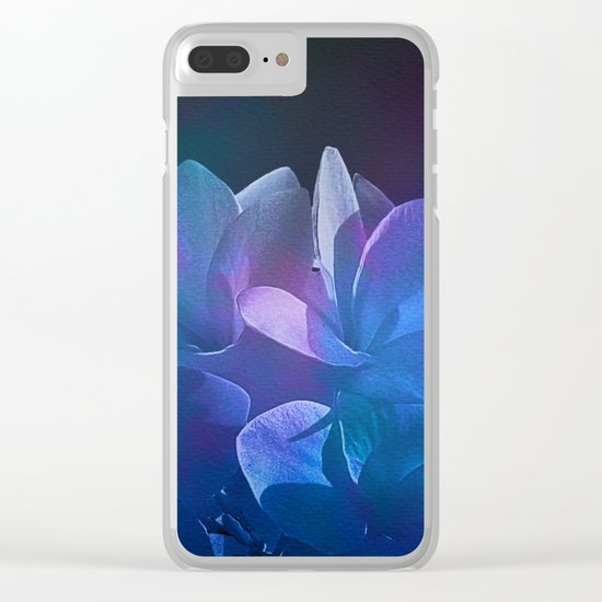 Dream Flower 7 Clear iPhone Case