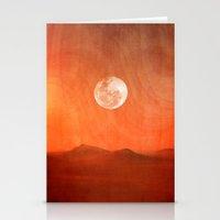 desert Stationery Cards featuring Desert by Viviana Gonzalez