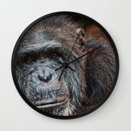 What you lookin at. Wall Clock
