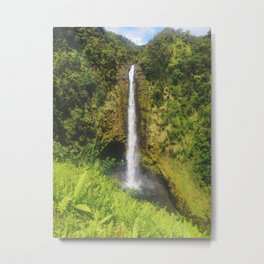 Akaka Falls, Big Island, Hawaii Metal Print