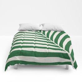 Minimalist Palm Leaf Comforters