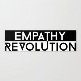 Empathy Revolution Canvas Print