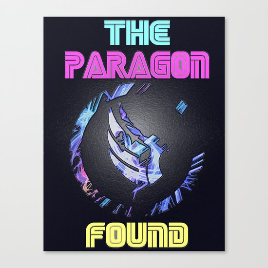 Paragon Mass Effect Canvas Print