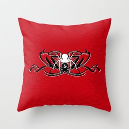 White Widow Entertainment logo by rmd Throw Pillow