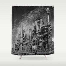Bethlehem Steel Blast Furnace 9 Shower Curtain