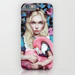 """Alice in Wonderland"" by Giulio Rossi iPhone Case"