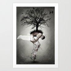 Horror poster Art Print