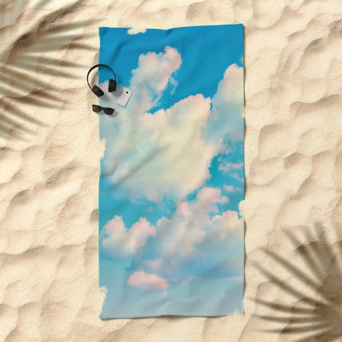 The Colour of Clouds 04 Beach Towel