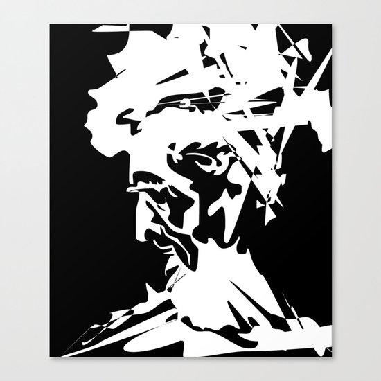 An Old Man Canvas Print