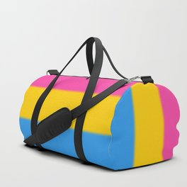 Pansexual Pride Flag Duffle Bag