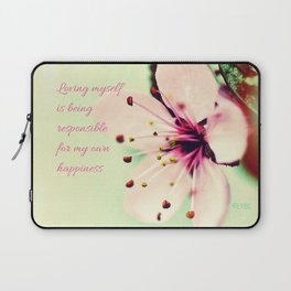 Love Yourself My Happiness Laptop Sleeve