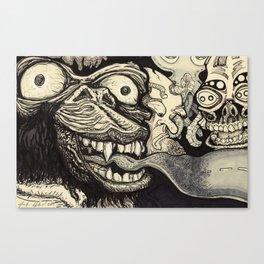 A wrong turn Canvas Print