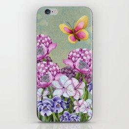 Fanciful Garden iPhone Skin