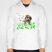 beagle Hoodies featuring Beagle by MinnaEleonoora