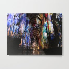 Stephansdom Cathedral in Vienna Metal Print
