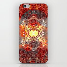 Spontaneous human combustion iPhone Skin
