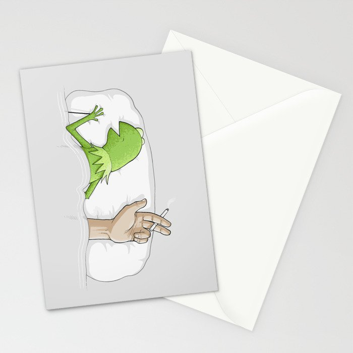 Crazy night Stationery Cards