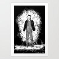 Sam, ex-blood junkie Art Print