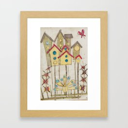 FANCY PANTS Framed Art Print