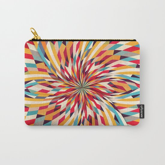 In Flower Carry-All Pouch