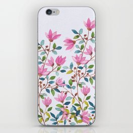 flowers 477 a iPhone Skin