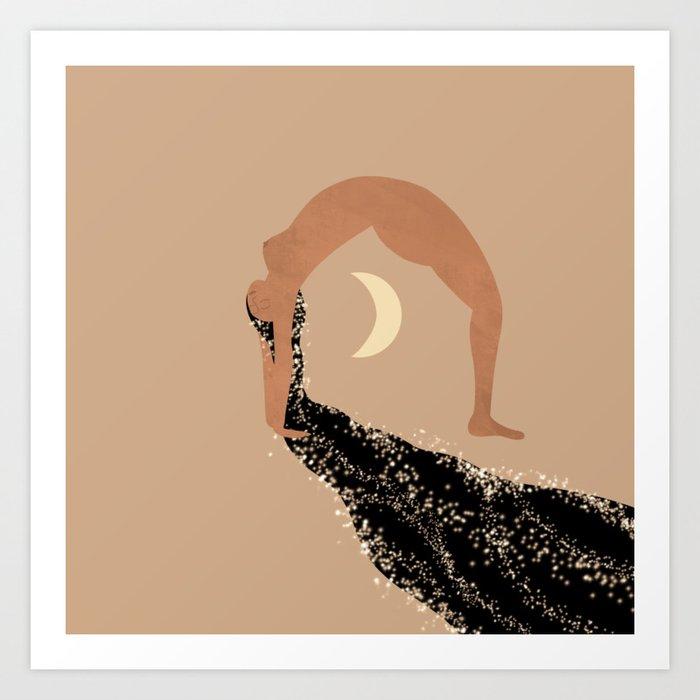 Starry Zen Art Print