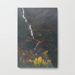 Fall Falling Metal Print