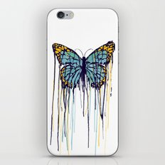 Melting Monarch (collab with Matheus Lopes) iPhone & iPod Skin
