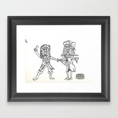 A Pirates Life Framed Art Print