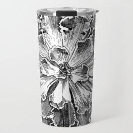Echeveria engraving Travel Mug