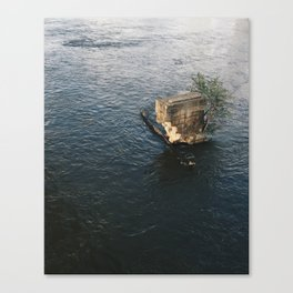 Richmond / Ruin in James Canvas Print
