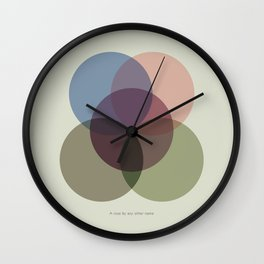 Rose One Wall Clock