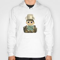 greg guillemin Hoodies featuring Greg by mecantdraw