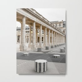 French Columns Metal Print