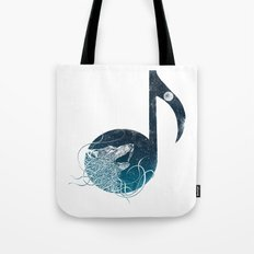 Night Sounds Tote Bag