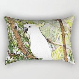 Cockatoo Rectangular Pillow