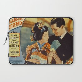 Madame Butterfly Movie Print Laptop Sleeve