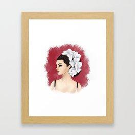Selena Framed Art Print