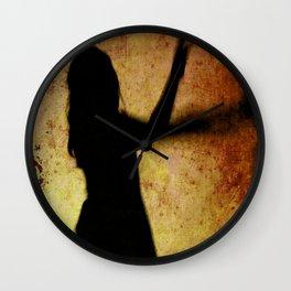 VOODOO CHILD Wall Clock