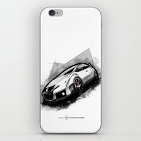 honda iPhone & iPod Skins featuring Honda Civic Type-R by an.artwrok