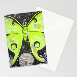Lunar Moth Magick Stationery Cards